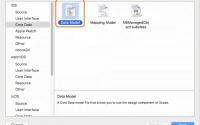 Xcodeのプロジェクトに後からCoreDataを追加する方法