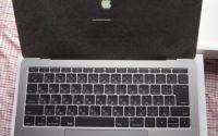 MacBookトラックパッドの2本指タップ