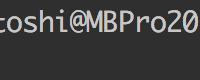 僕のプロンプトの設定(Ubuntu & bash)